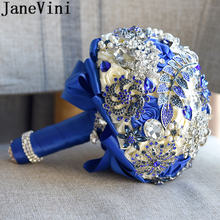Роскошные Королевский синий ювелирные изделия jaevini свадебный