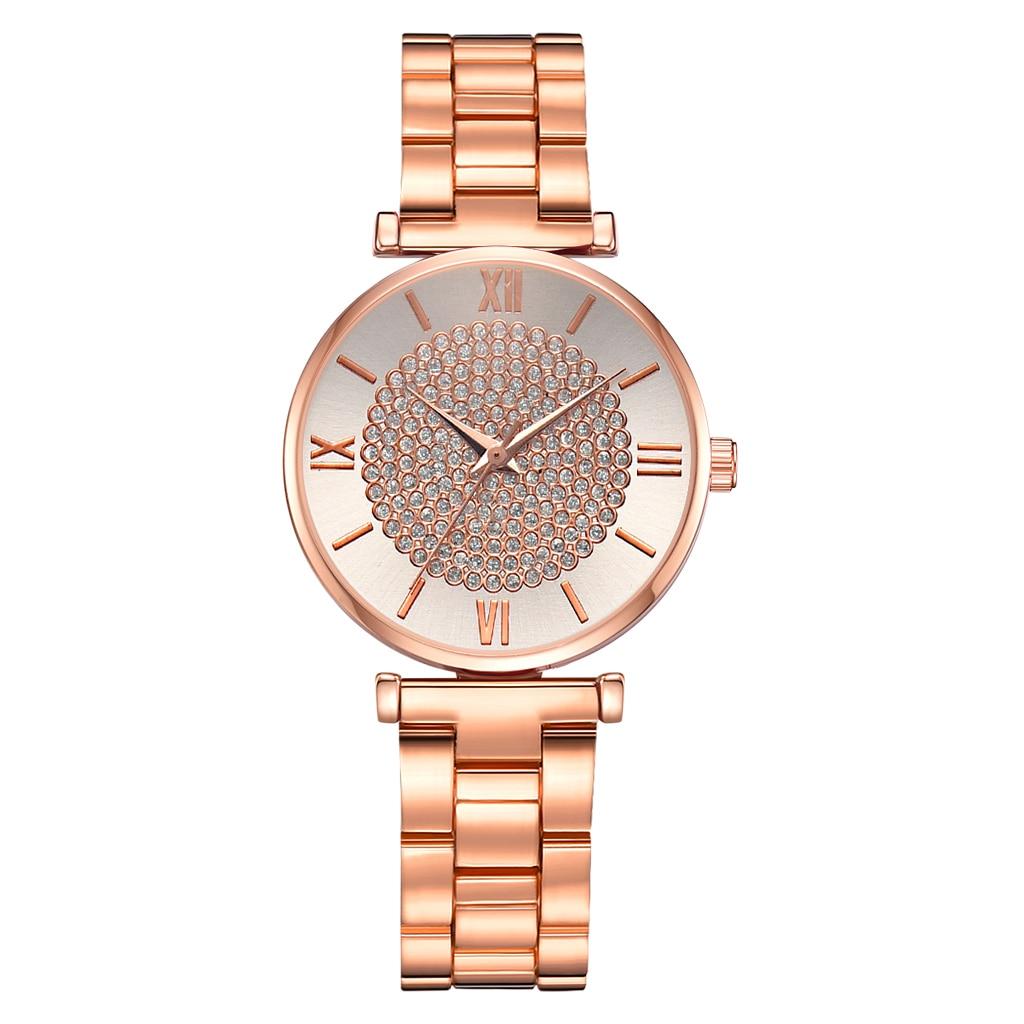 Fashion Steel Mesh Watches Unisex Women Watches Casual Bracelet Quartz Wristwatch Relogio Feminino Saat Watches For Women