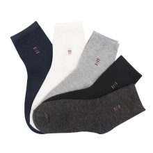 5 Pairs Men Socks Solid Color Cotton Classical Businness Casual Socks Summer Autumn Excellent Quality Breathable Male Sock boy