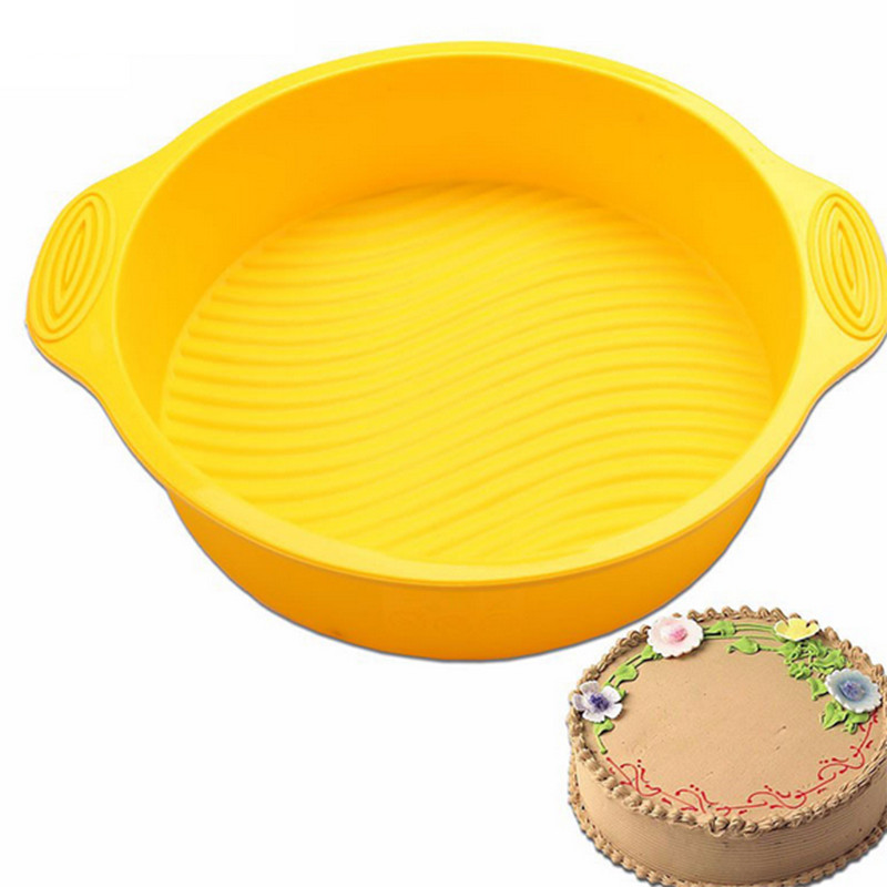 High-Quality §D Silicone Round Baking Tray Cake Tin 1
