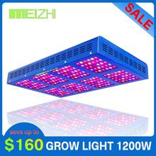 MEIZHI Reflector 900W LED Grow Light Hydroponics Full Spectrum Indoor Plant Lamp for Greenhouse