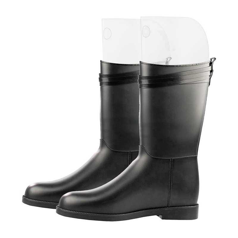 AUAU-5 Pasang (10 Lembar 16 Inch) boot Pembentuk Bentuk Sisipan Sepatu Bot Tinggi Dukungan untuk Wanita dan Pria Warna Transparan
