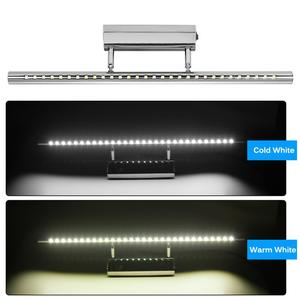 Image 3 - 5W 7W LED Mirror Front Light Bathroom Wall Light Modern LED Bathroom Mirror Light Make Up Bath Over Mirror Lamp With Switch