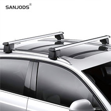 SANJODS Car Roof Rack Replacement For 12-15 Q5 Pair OE Style Aluminum Roof Rail Rack Cross Bar Baggage Carrier sanjods car roof rack pair roof rack top rail aluminum cross bar replacement for toyota rav4 adventure 2019 2020