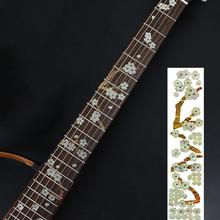None Sticker Fretboard Inlay Decals Electric Flanger Bass Fingerboard Stickers Decoration Flangerra Accessories