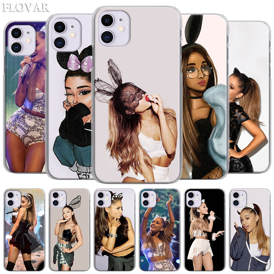 Cat Ar <font><b>Ariana</b></font> <font><b>Grande</b></font> Hard <font><b>Case</b></font> for Apple <font><b>iPhone</b></font> 11 Pro MAX X XR XS MAX 7 8 Plus 6 <font><b>6s</b></font> Plus 5S SE Phone Cover Coque image