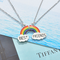 Make a Cute Perfect Match Puzzle Necklace, Let's See How-