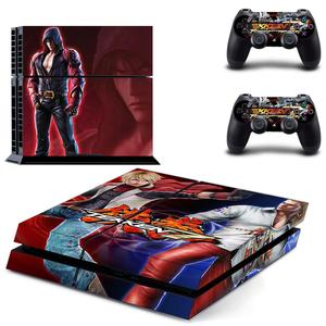 Image 3 - Game Tekken 7 PS4 Stickers Play station 4 Skin Sticker Decals For PlayStation 4 PS4 Console and Controller Skins Vinyl