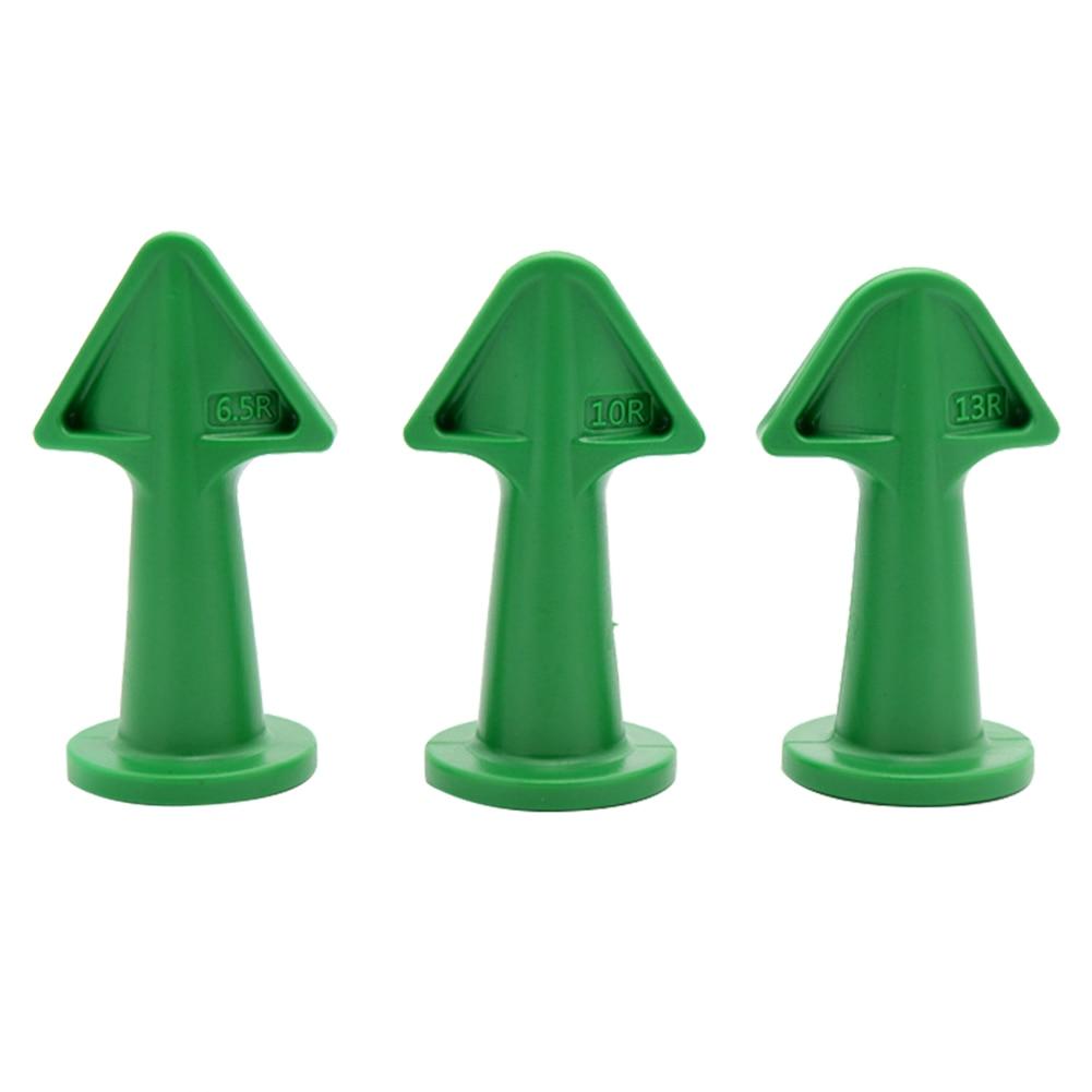 Caulking Construction Silicone Remover Caulk Finisher Grout Scraper (Green)