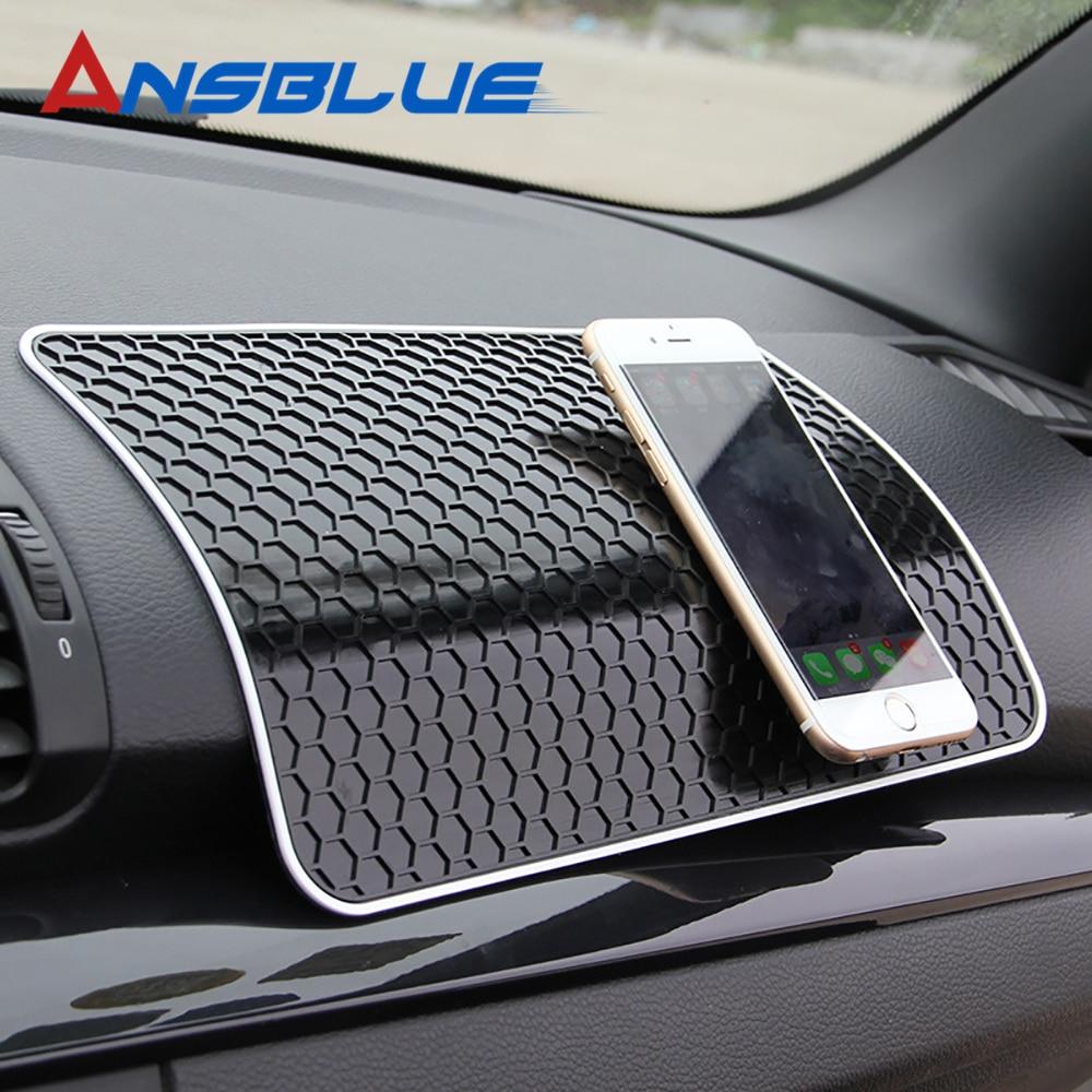 28x17CM Car Dashboard Sticky Anti-Slip PVC Mat Non-Slip Sticky Pad For Phone Sunglasses Holder Car Styling Interior Accessories