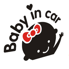 15*14CM BABY ON BOARD Car Sticker Motorcycle Decal Waterproof Safe Accessories Lovely Colorful Warning Mark Covers
