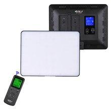 Viltrox VL-200T Drahtlose Steuerung Bi-farbe LED Video Licht Panel 3300K-5600K 192 Perlen CRI95 LCD für Canon Nikon Sony DSLR Kamera