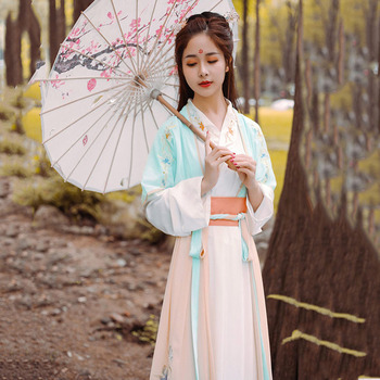 Chinese Folk Dance Clothing Set Retro Tang Dynasty Princess Cosplay Costume Stage Wear Asian Traditional Women Hanfu Fairy Dress woman traditional hanfu clothing chinese folk dance costume lay han dynasty princess dance wear girl vintage fairy stage dress