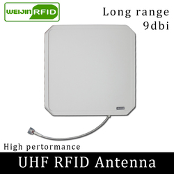 UHF هوائي RFID VIKITEK 902-928MHz الاستقطاب الدائري كسب 9DBI ABS لمسافات طويلة تستخدم ل iminj R420 R220 الغريبة 9900 F800