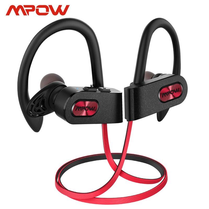 Mpow Vlam 2 Ipx7 Waterdicht Bluetooth 5.0 Sport Oortelefoon 13 Uur Speeltijd Hd Stereo Geluid Voor Iphone Samsung Huawei xiaomi
