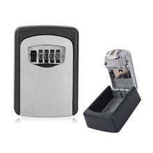 Key Storage Organizer Boxes 4 Digit Wall Mounted Password Small Metal Secret Safe Game Room Escape Props Code Lock wall mounted key storage organizer boxes with 4 digit combination lock spare keys organizer boxes metal secret safe box car lock