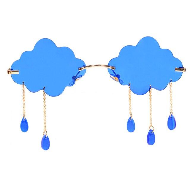 Rainy Cloud Sunglasses - Blue