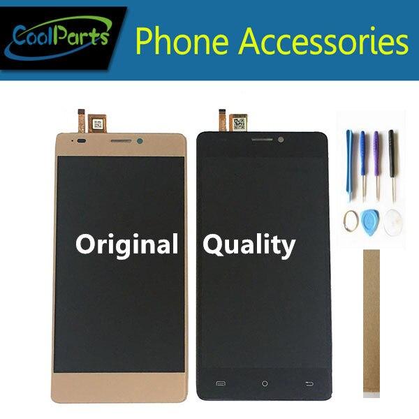 "Calidad Original 5,0 ""para pantalla LCD Cubot H3 con Sensor de vidrio de pantalla táctil con marco/sin marco con cinta de herramientas"