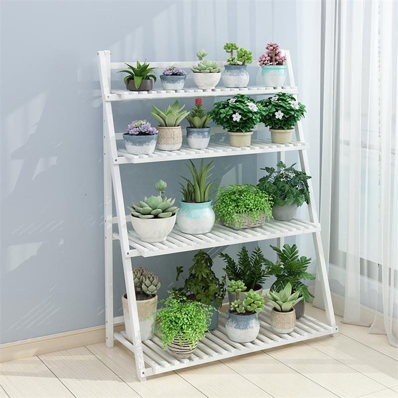 Bunga Indoor For Stojaki Na Kwiaty Balkon Plantenstandaard Ladder Plantenrekken Dekoration Plant Rack Balcony Shelf Flower Stand