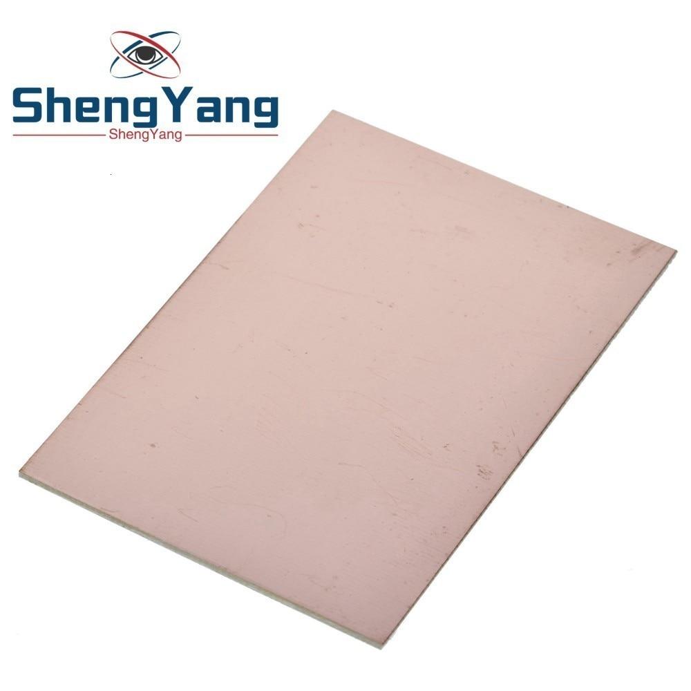 1 шт. Fr4 Pcb 7x10 см 7*10 односторонняя медная плакированная пластина Diy Pcb Kit ламинированная печатная плата