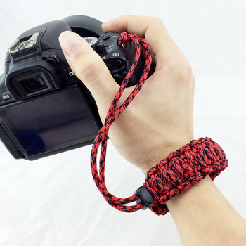 Correa para cámara Digital, correa de mano para muñeca, Correa trenzada para cámara Nikon, Canon, Sony, Pentax, Panasonic, DSLR