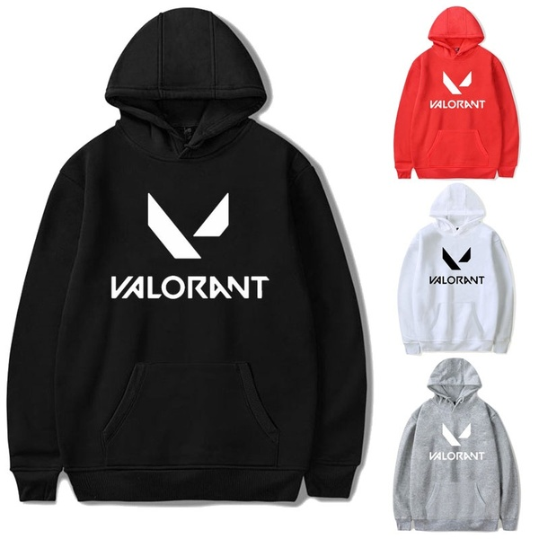 2020 Hot Game Valorant Hoodie Men Sweatshirt Women Clothing Streetwear Hoodies Survetement Homme Vetements Winter Clothes Women
