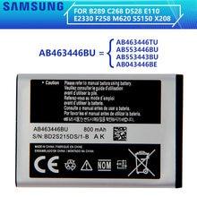 SAMSUNG orijinal pil AB463446BA AB463446BC AB463446BE AB463446BU AB463446TU Samsung S139 M628 X520 F258 C3011 X208 E1200