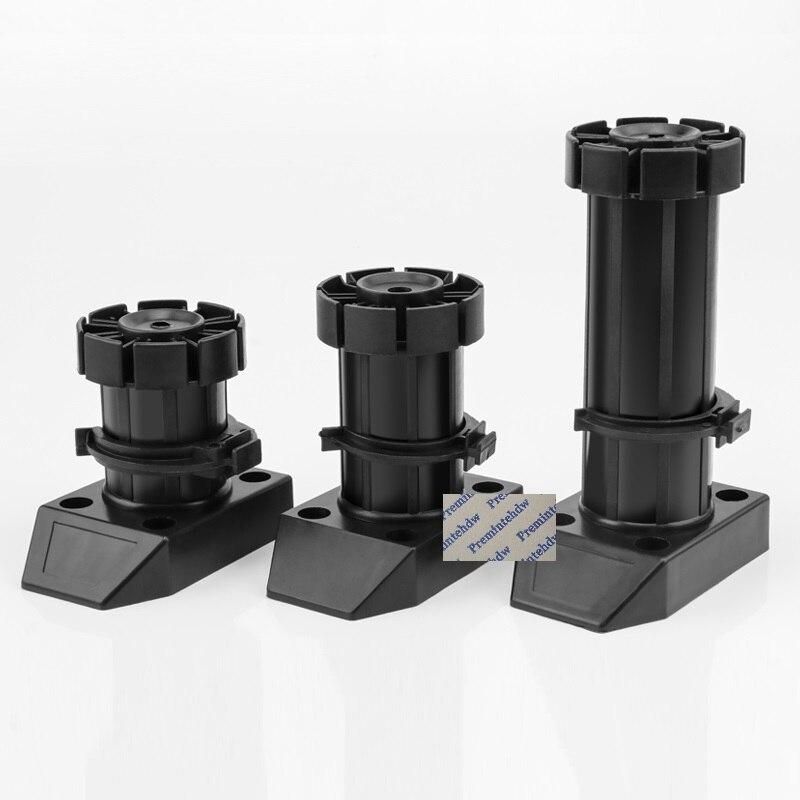 10Pcs Heavy Duty Plastic Cabinet Adjustable Feet Kitchen Leveler Leveling Leg Plinth Kitchen PVC Wooden Toekick Clip