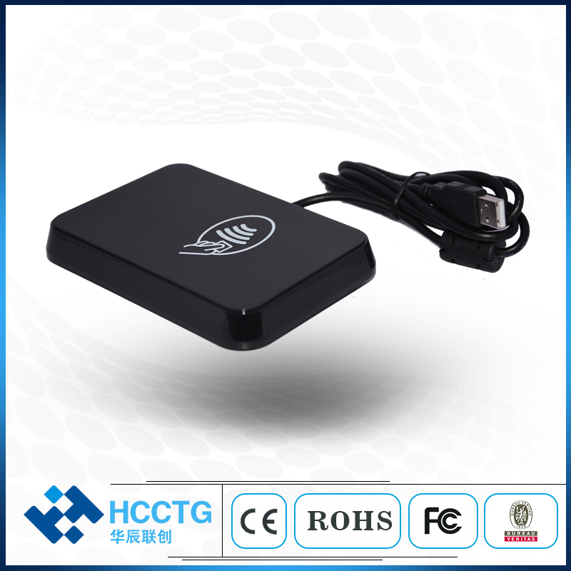 EMV/CE/FCC Hot Selling 13.56 MHz USB Mobile Card Reader/Writer with NFC Chip Price HD8N