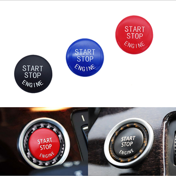 One button start button cover For BMW E84 E70 X5 X6 Z4 1 3 5 series original perfect fit modified button switch decorative ring image