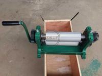 1000 pces/hour novo manual 86*450mm fundação de cera de abelha máquina de moinhos de folha pente fundação