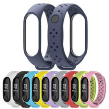 Smart Watch Bandfor Xiaomi 4 Sport Wristband Porous Breathable Patented Replacement Strap  Silicone Mi4 Bracelet