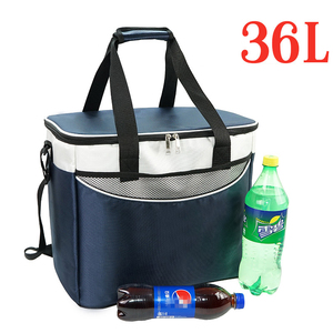Image 2 - 36L Cooler Bag High Quality Car Ice Pack Picnic Large Cooler Bags 3 Colors Insulation Package Thermo ThermaBag Refrigerator