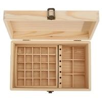 Wooden Essential Oil Box Wooden Essential Oil Storage Box Solid Wood Gift Box Multi Square Essential Oil Box