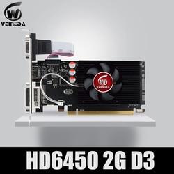 Originale GPU Veineda Schede Grafiche HD6450 2GB DDR3 HDMI Grafica della Scheda Video PCI Express Per ATI Radeon Gaming