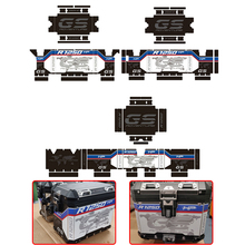 for BMW R1250GS R1250 R 1250 GS ADV R1200GS R1200 ADV Adventure Protector Cover Sticker Decal Set Suitable Aluminum BOX 1 Set