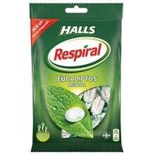 Halls Respiral eucalyptus menthol, 150g