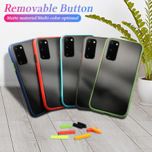Anti-knock pancerna obudowa do Samsung Galaxy S20 Ultra S10 S9 S8 Plus A51 A71 A01 A21 A81 A91 A20S A20 A30 A50 A70 uwaga 10 Pro pokrywa(China)