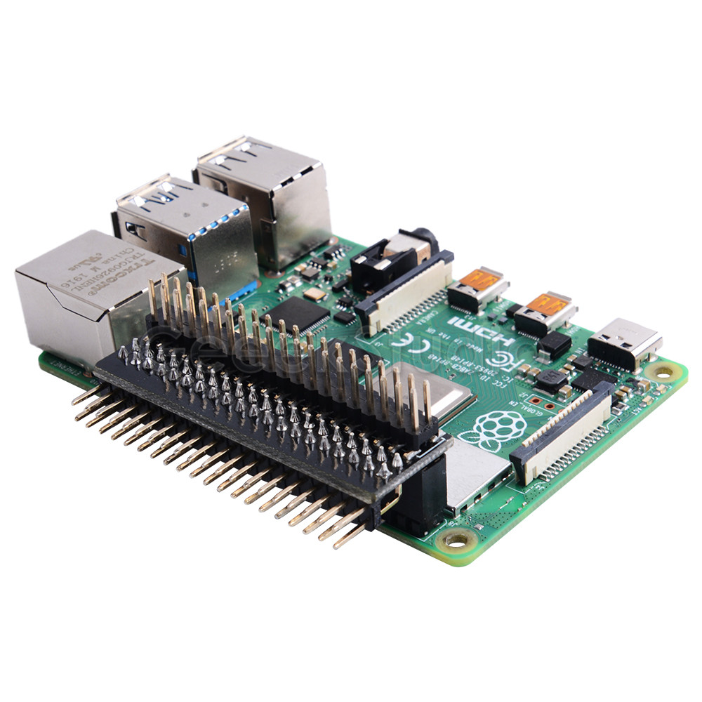 GPIO Edge Extension GPIO Extension Board Raspberry Pi GPIO Header For Raspberry Pi 4B / 3B+ / 3B / Zero W /  Zero