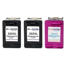 Восстановленный для HP 302XL 302 чернильные картриджи для HP DeskJet 1110 213 Officejet 3830 38310 3630 Envy 4520 4522 5220 5230