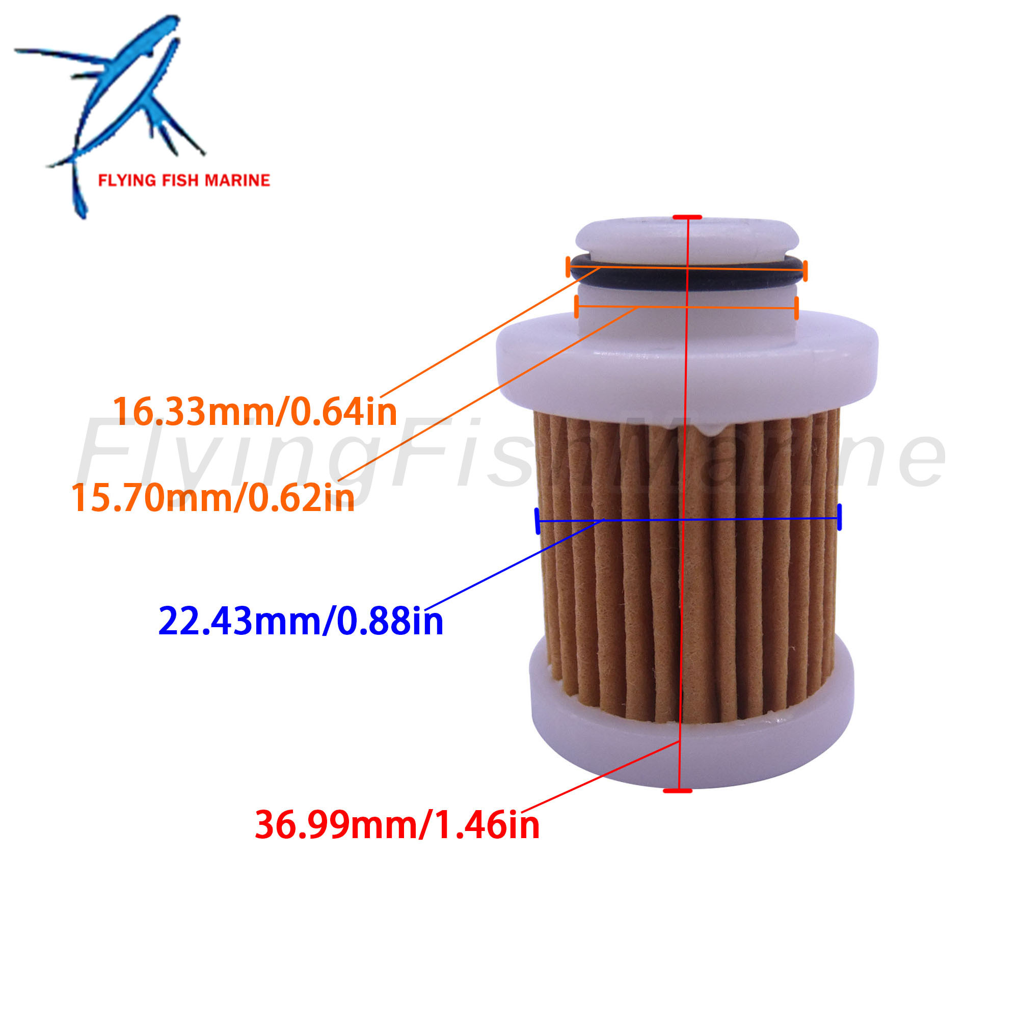 Sierra 18-79799 Yamaha Fuel Filter Replaces 6D8-WS24A-00-00