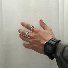 Nuevo Pequeño anillo relámpago Vintage moderno para mujeres elegante joyería regalo del Día de San Valentín anillo de boda de acero inoxidable OSR228