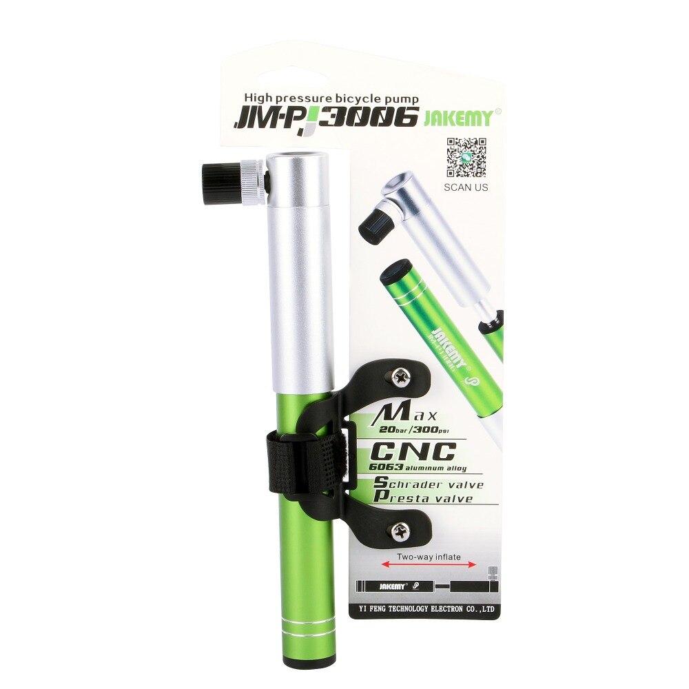 JAKEMY инструменты JM-PJ3006 двухсторонний насос высокого давления домашний портативный горный велосипед велосипедный Американский вакуумный