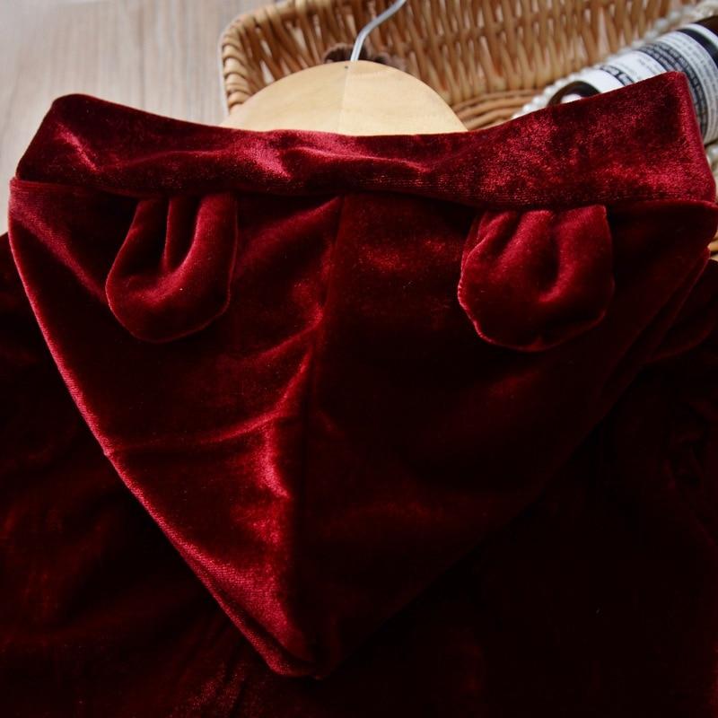 Meninas roupas de inverno outono manga longa