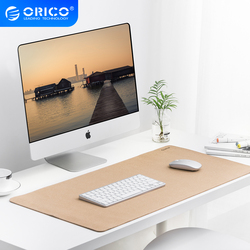 ORICO Large Computer Mouse Pads Cork Double-side Ultra Thin Gaming Mousepad Waterproof PU Leather Office Desk Pad For Home Game