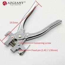 핀 제거 클램프로드 핀 도구 플립 폴딩 원격 키 핀 분해 펜치 도구 고정 리무버 도구 자물쇠 도구