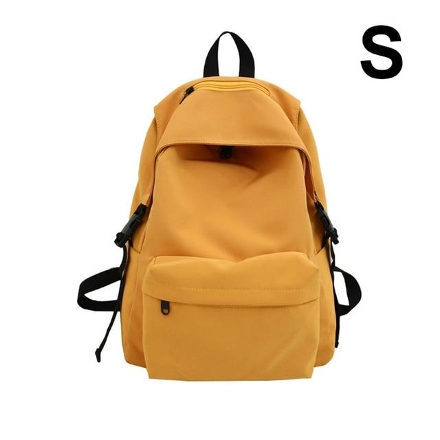 Купить нейлоновый рюкзак унисекс однотонный дорожный портфель для подростков картинки цена