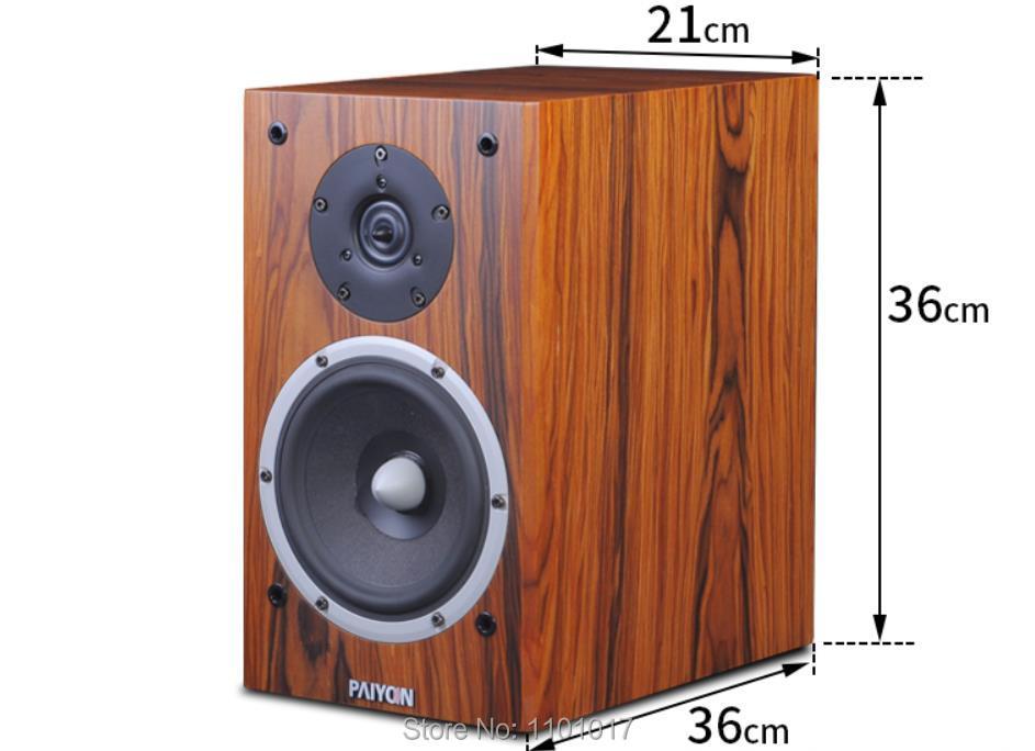 PAIYON P2S Bookshelf Speakers HIFI EXQUIS Tymphany Peerless VIFA XT25TG30 unit speaker 4