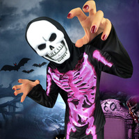 Skeleton Costume Halloween For Women Scary Role Play Rave Clothes Bar Stage Performance Outfit Halloween Skeleton Costume BL2707
