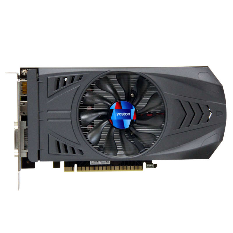 HOT-Yeston Geforce <font><b>Gtx</b></font> <font><b>1050</b></font> <font><b>Ti</b></font>-<font><b>4Gb</b></font> Gddr5 Image Cards <font><b>Nvidia</b></font> Pci Express X16 3.0 Desktop Computer Pc Video Gaming Image Card image